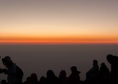 Sommet du Mont-Fuji