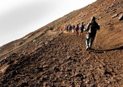 Descente du Mont-Fuji (Japon)